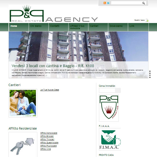 Appartamenti Ville Cantieri Residenziali in Vendita a Settimo Milanese P&P Real Estate