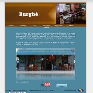 Burghe – Wine Bar a Rovellasca Como