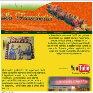 LA FRASCHETTA – Ristorante Cucina Romana