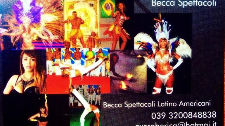Spettacoli Latino Americani Roma Nord – Becca Spettacoli Brasiliani